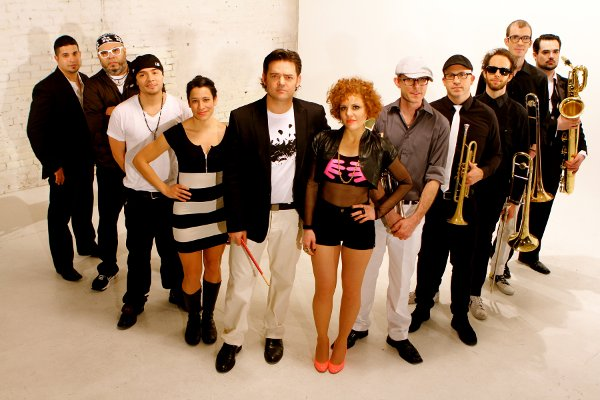 Members of Williamsburg Salsa Orchestra