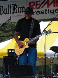 soloist from the arthur holmes blues band