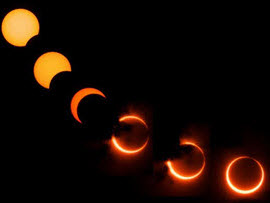 Photos of the eclipse