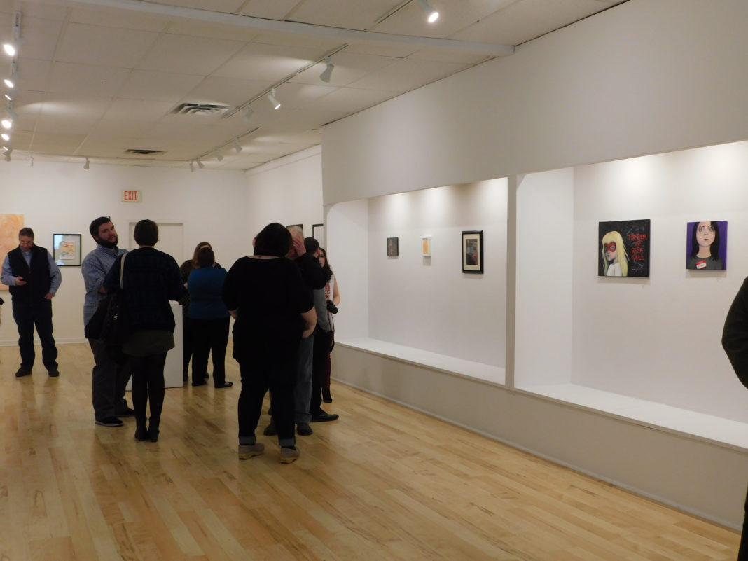 Photo of a group of people in Gallery 51
